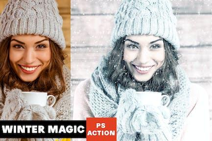 Winter Magic Photoshop Action