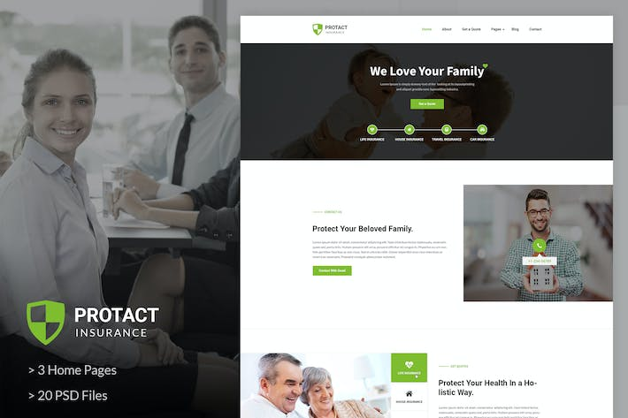 Thumbnail for Protact | Insurance Agency & Business