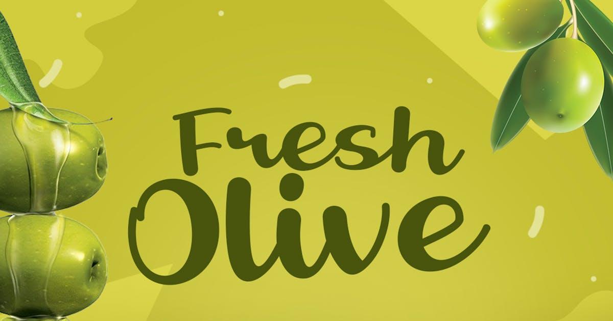Download Fresh Olive by khurasan