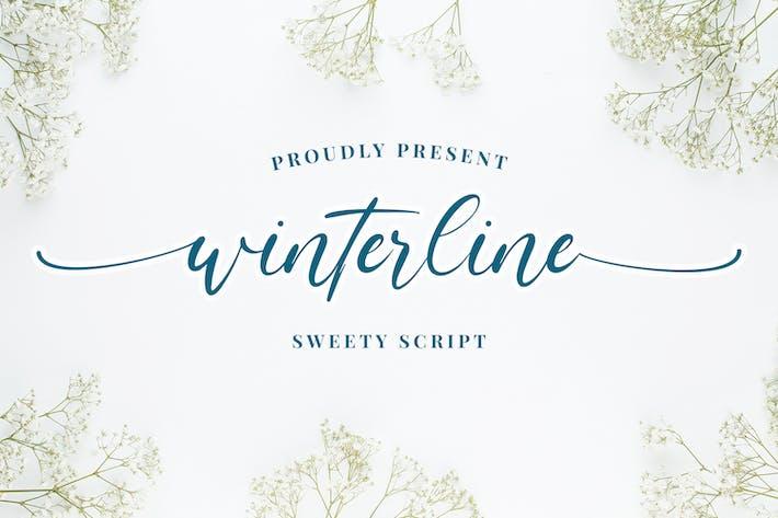 Thumbnail for winterline - Sweety Script