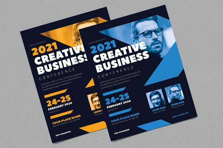 Thumbnail for Conference Business Flyer