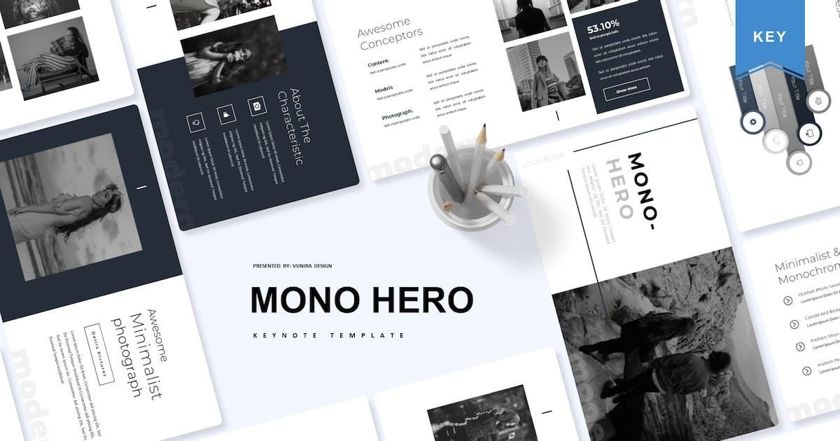 Download Mono Hero | Keynote Template by Vunira