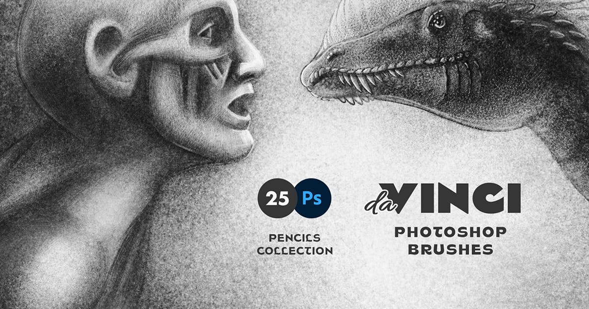 Download Pencil Photoshop Brushes by pixelbuddha_graphic