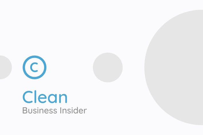 Thumbnail for Clean - Business Insider Google Slides