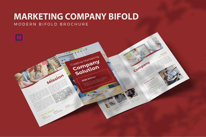 Thumbnail for Marketing Company - Bifold Brochure