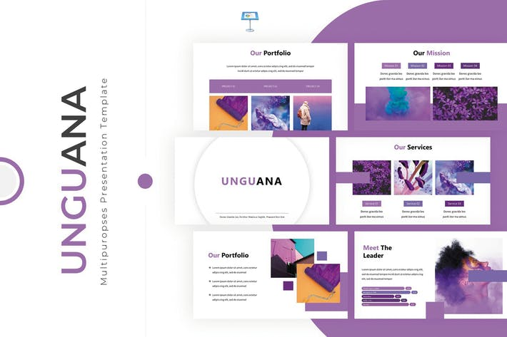 Thumbnail for Unguana - Keynote Template