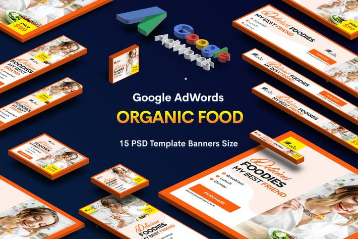 Thumbnail for Organic Food Banners Ad