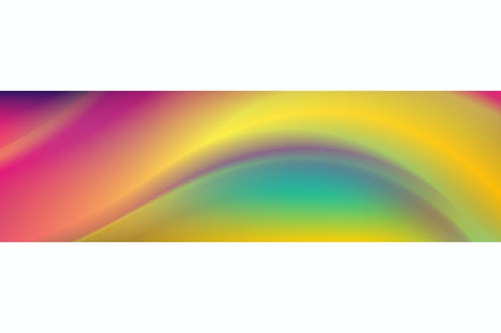 Thumbnail for Colorful smooth liquid waves abstract background