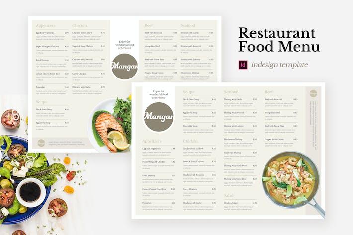 Thumbnail for Mangan - Restaurant Food Menu Indesign Template