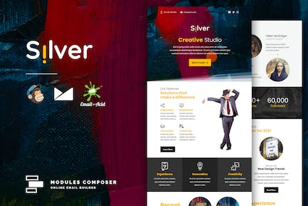Silver - Agency & Startup Responsive Email