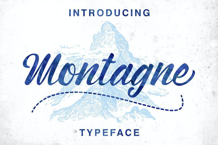 Cover Image For Montagne Typeface