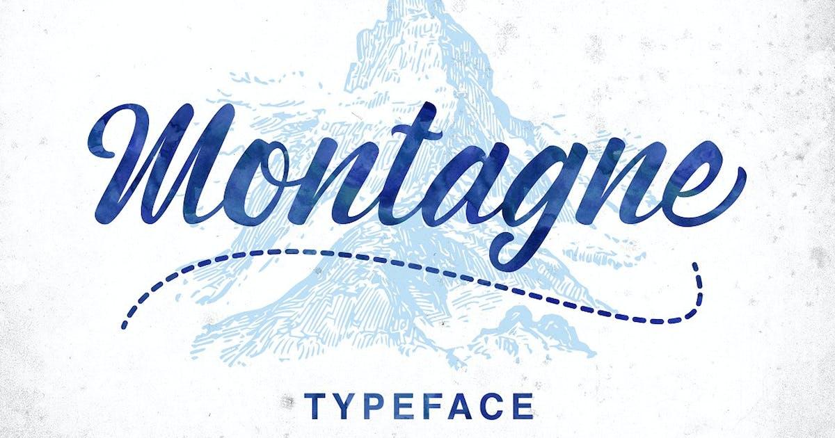 Download Montagne Typeface by queentype