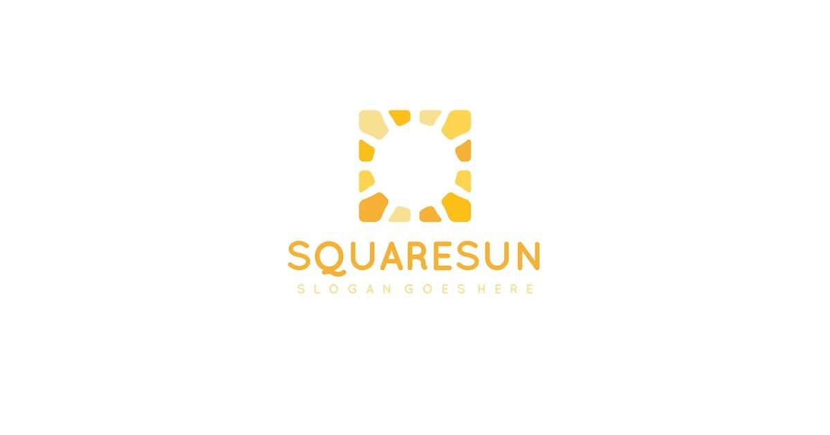 Download Square Sun Logo by 3ab2ou