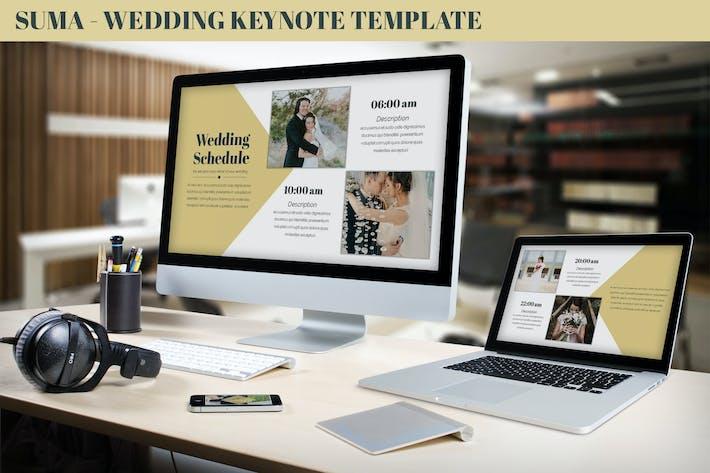 Thumbnail for Suma - Wedding Keynote Template