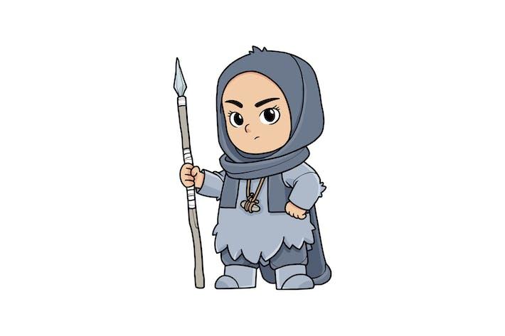 Thumbnail for Arabian Wife Vol.1 - Character RG