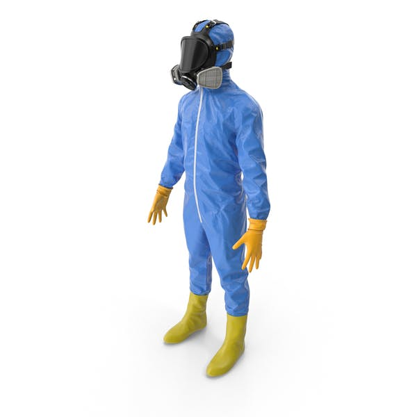 Material peligroso azul