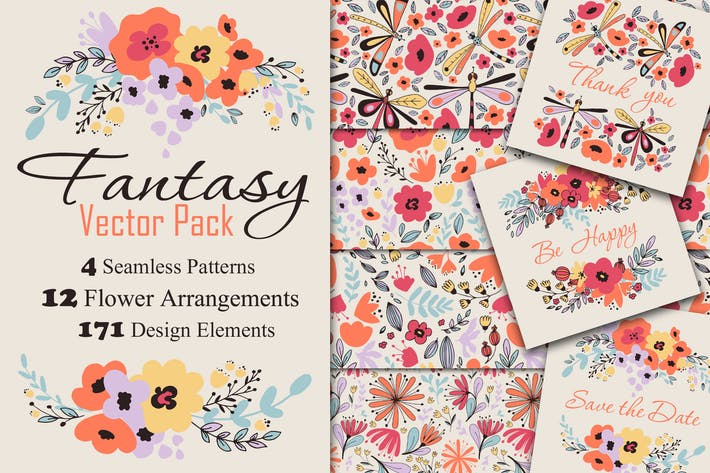 Thumbnail for Fantasy Flowers
