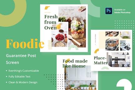 Foodie Guarantee - Feed Post