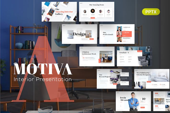 Thumbnail for Motiva Interior PowerPoint Presentation Template