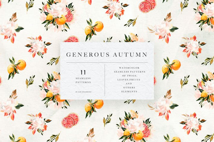 Thumbnail for Generous Autumn Patterns