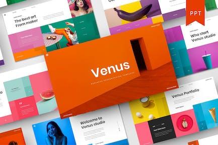 Venus - Plantilla de PowerPoint para empresas