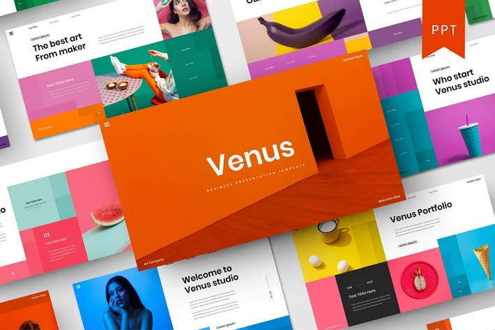 Thumbnail for Venus - Business PowerPoint Template