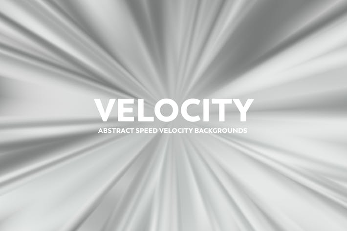 Thumbnail for Abstract Speed Velocity Backgrounds - Gray Color