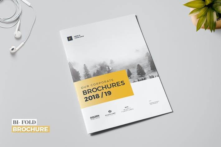 Thumbnail for Business Bi-Fold Brochure