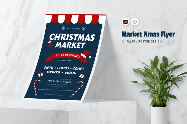 Thumbnail for Market XMas Flyer