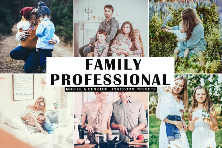 Thumbnail for Family Professional Lightroom Presets