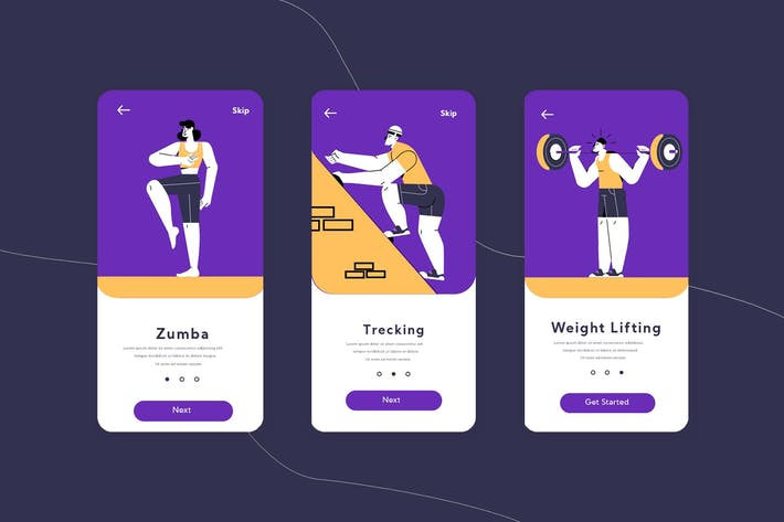 Thumbnail for Sports Onboarding App
