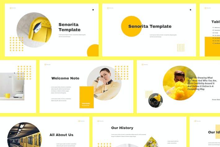 Thumbnail for Senorita Brand Guideline Powerpoint