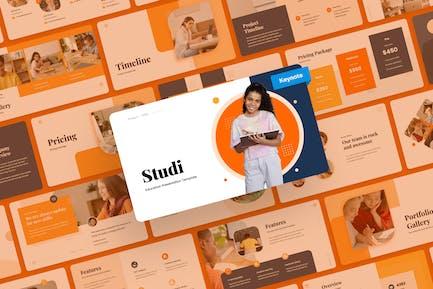 Studi - Education Keynote PowerPoint