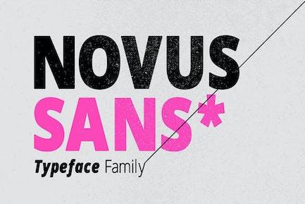 Famille de caractères Novus Sans