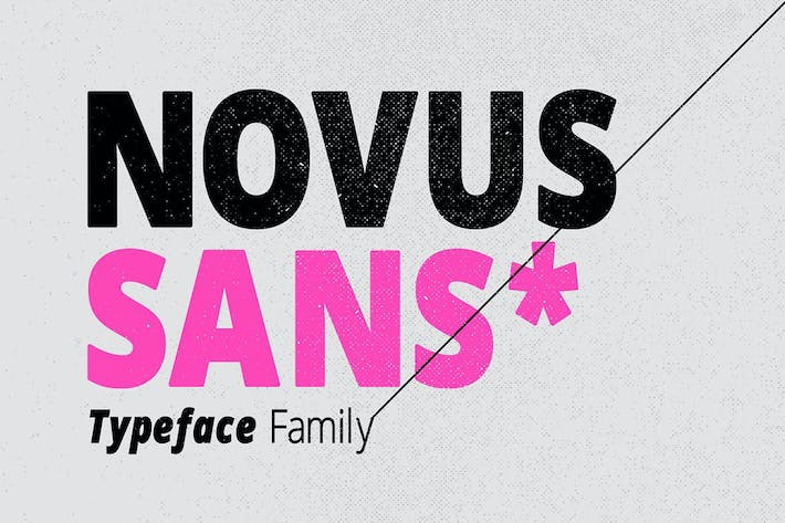 Thumbnail for Novus Sans Typeface Family