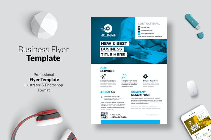 Thumbnail for Business Flyer Template 05