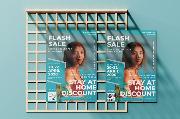 Extra Discount Flyer