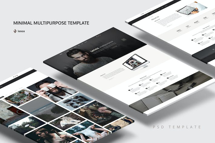 Thumbnail for Minimal Multipurpose Template
