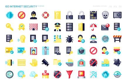 60 Internet-SicherheitssIcons