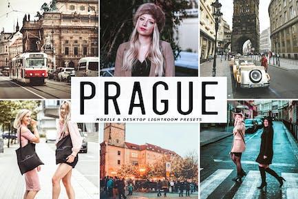 Prague Mobile & Desktop Lightroom Presets