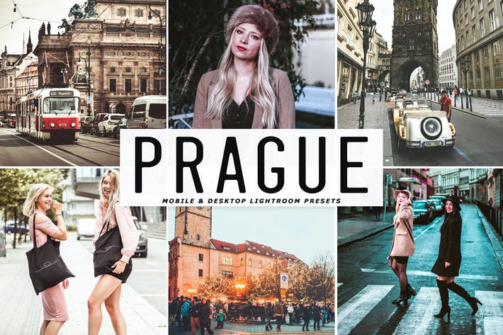 Thumbnail for Prague Mobile & Desktop Lightroom Presets