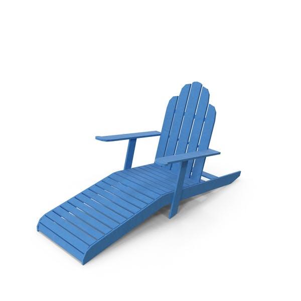 Low Poly Sun Bathing Chair