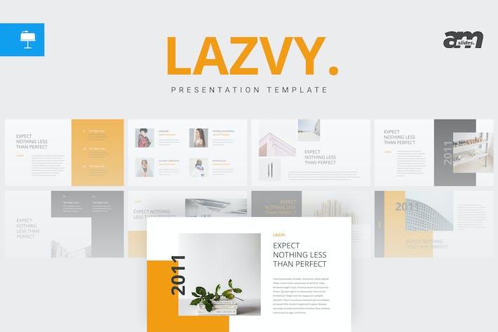 Lazvy - Шаблон Keynote