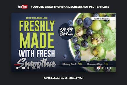 Smoothie YouTube Video Thumbnail Screenshot