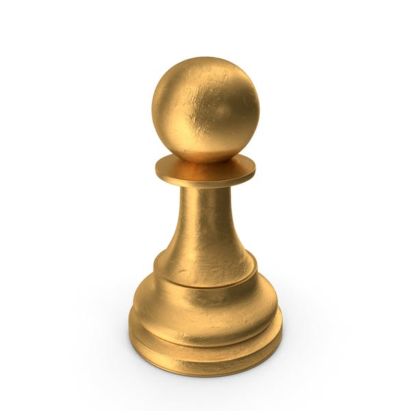 Chess Piece Pawn Gold