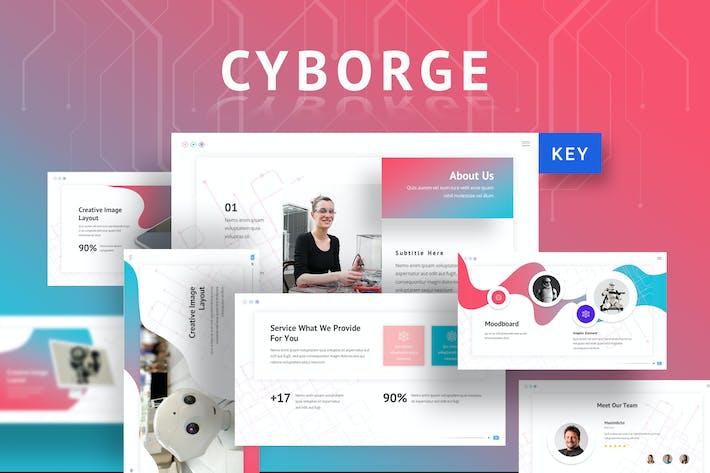 Thumbnail for Cyborge - AI Keynote Template