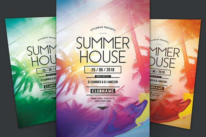 Thumbnail for Summer House Flyer
