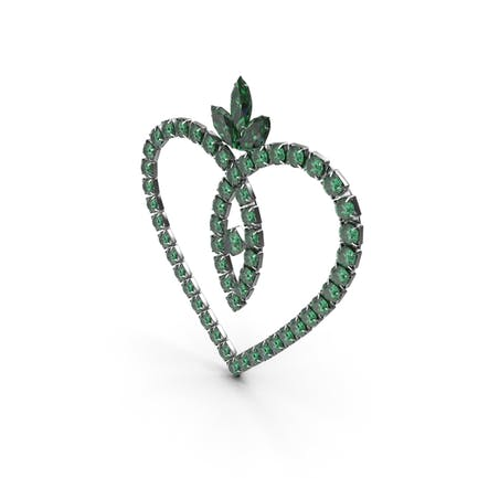 Grüner Smaragd Kristallschmuck