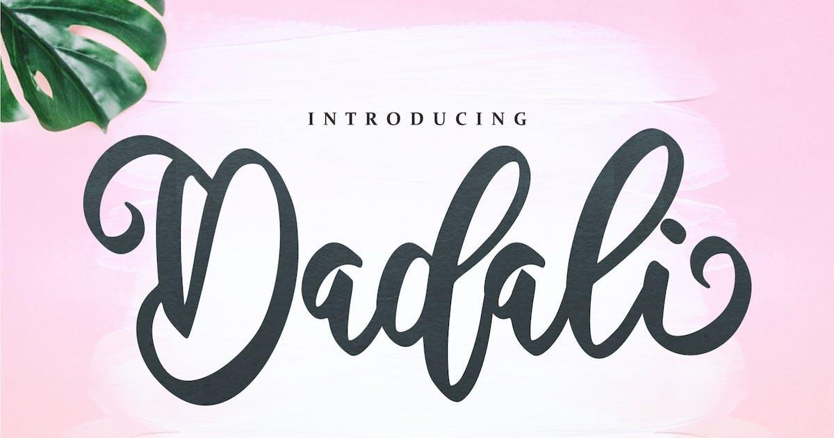 Download Dadali - Interval Script Font by IanMikraz