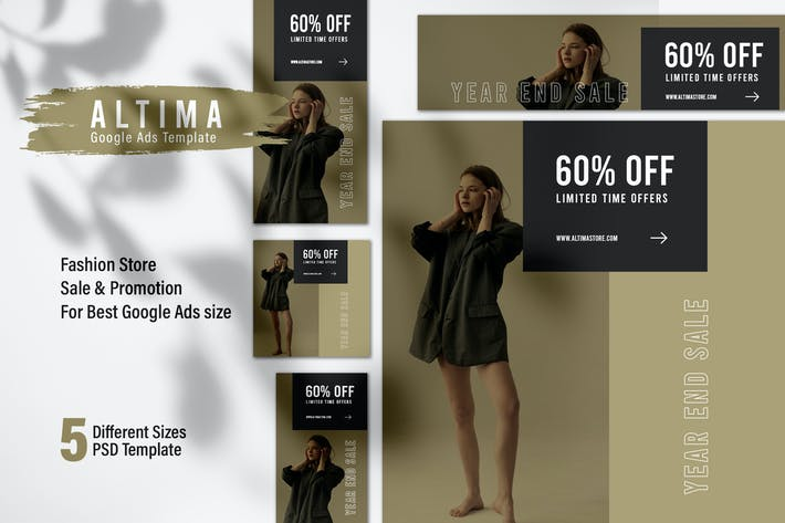 ALTIMA Fashion Store Google Ads Web Banner